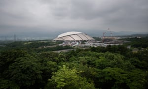 Oita, on the southern island of Kyushu, is one of 12 venues for the tournament.