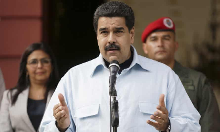 President Nicolás Maduro announced that Fridays in April and May would be non-working holidays as part of an effort to stave off electricity rationing.