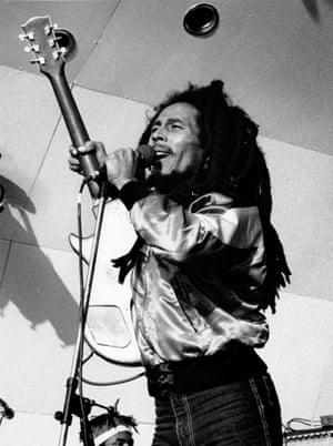 Bob Marley at Crystal Palace Bowl.