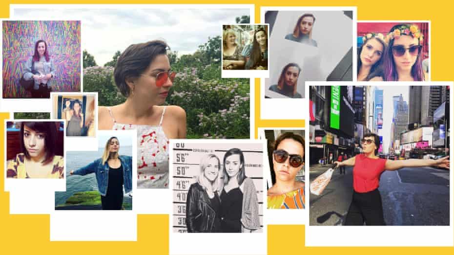 instagram collage of kari paul