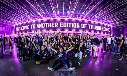 Some of the crowd at Thunderdome 2019.