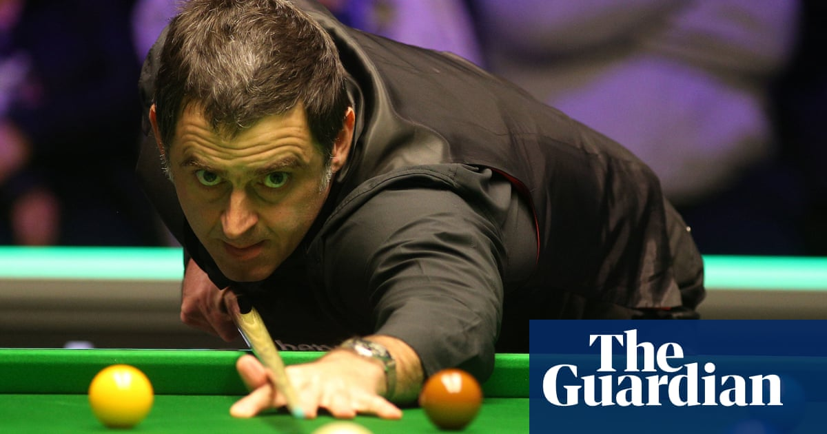 Snooker players are being treated like lab rats, claims Ronnie OSullivan