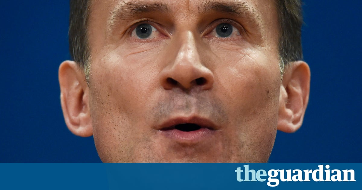 Jeremy Hunt can attack me all he wants – but he is wrong to say the NHS is working | Stephen Hawking
