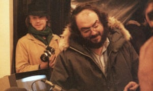 Leon Vitali with his boss Stanley Kubrick in the 'edifying' Filmworker.