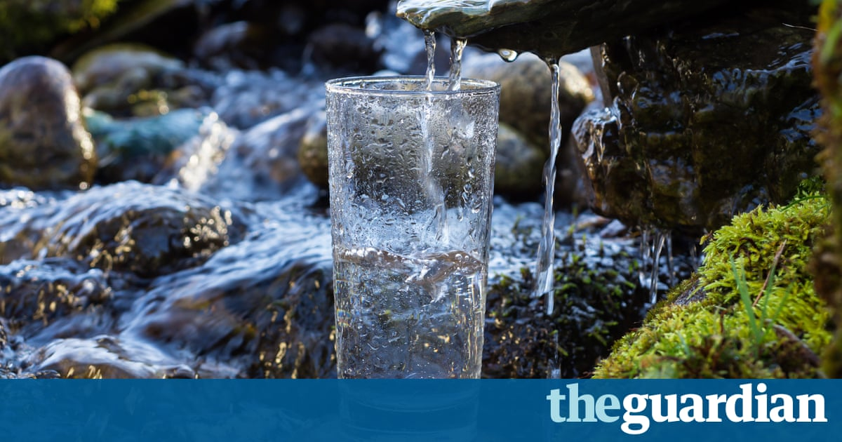 Raw water: the unsterilised health craze that could give you diarrhoea