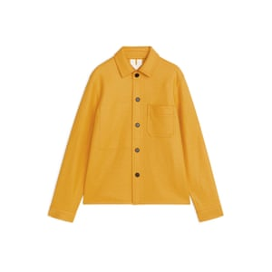 Yellow wool, £135, arket.com