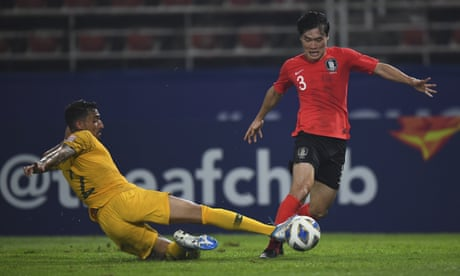 Olyroos miss first chance to qualify for Tokyo Olympics, losing to South Korea 2-0