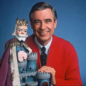 Fred Rogers, of the children's TV show Mr Rogers' Neighborhood.