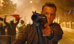 Firing on all cylinders: a scene from the new movie, Jason Bourne.