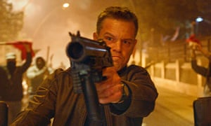 'Paul Greengrass as ever shows his mastery of muscular, deafening, frenetically edited action sequences - the visual equivalent of a drum-roll' … Matt Damon in Jason Bourne
