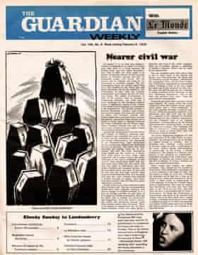 Guardian Weekly,  5 February 1972