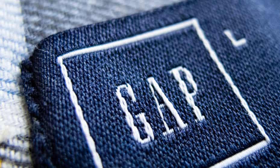 Gap clothes label