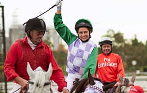 Teresa Palmer plays Michelle Payne, the first woman to win the Melbourne Cup, in Rachel Griffiths' directorial debut.