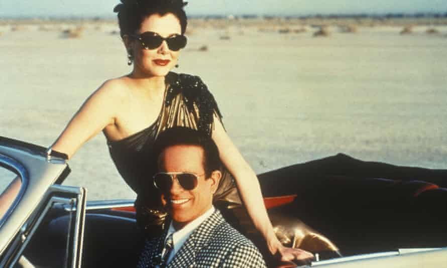 Annette Bening with husband Warren Beatty in Bugsy.