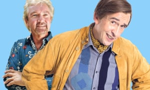 'People have always asked me, why do you hate Edmonds?' Alan Partridge, and his archenemy.