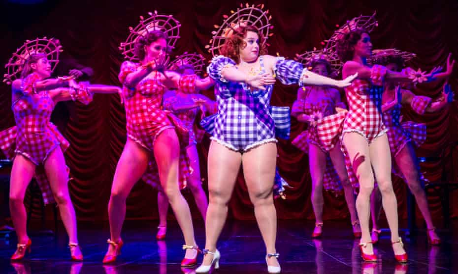 Rebel Wilson as Adelaide in Guys and Dolls at the Phoenix, London.