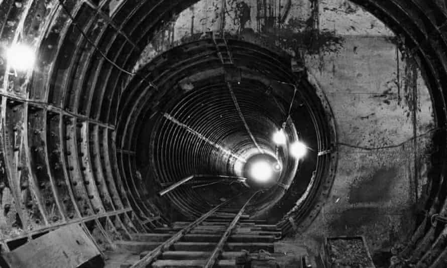 Tunnel on London Underground