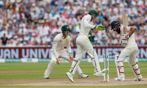 Moeen Ali struggled during the first Ashes Test, being dismissed and outbowled by Nathan Lyon.