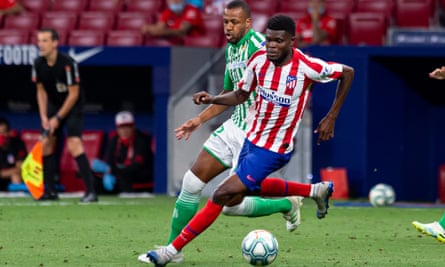 Atlético Madrid remain determined to fend off Arsenal's interest in Thomas Partey.