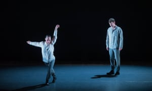 Austere spareness ... Bernadette Iglich and Richard Dowling in Britten's Holy Sonnets of John Donne at Snape Maltings.