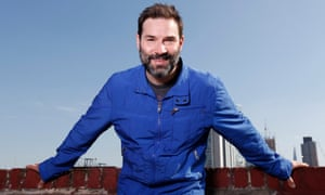 Observer new review Adam Buxton comedian in east london 03/05/13