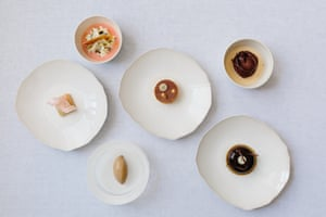 Xier's serves this 'sweet tooth' pudding selection as an entire course.