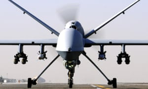 An RAF Reaper unmanned aerial vehicle.