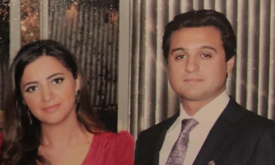 Eldar Mahmudov's son, Anar, and daughter, Nargiz Mahmudova