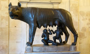 Rome's founders, Romulus and Remus were supposedly suckled by a she-wolf in a cave called the Lupercal, the starting point for the festival.