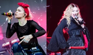 A reminder of the price of creative freedom for female artists ... Grimes and Madonna.