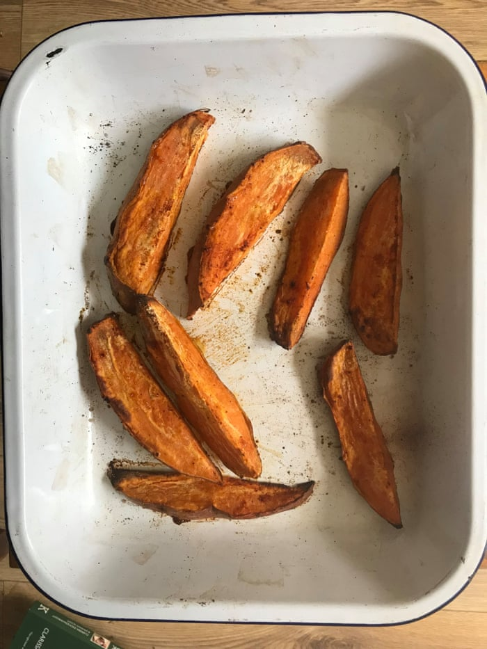 bfd2376cea45f Felicity Cloake s perfect sweet potato fries – recipe
