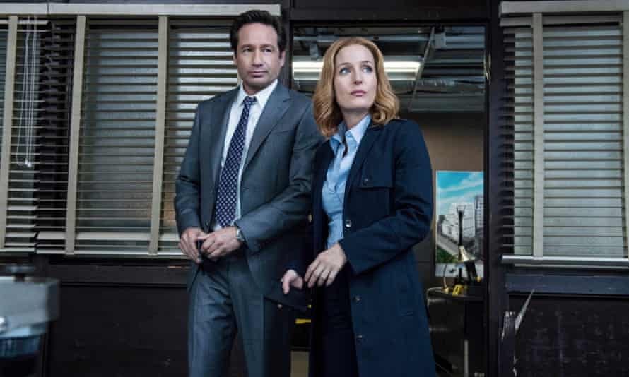 Too much too young: David Duchovny and Gillian Anderson in the Fox mini-series