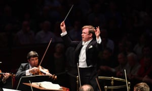 Neat and precise ... Daniel Harding at the Proms in 2017.