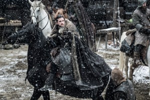 Winter is finally here (just as it moves to a summertime slot) … Game of Thrones.