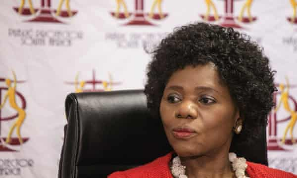 Thuli Madonsela, who left her post as public ombudsman in October.