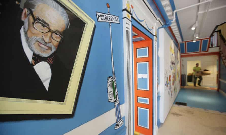 Picture disapproval … inside the Dr Seuss Museum in Springfield.