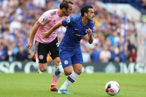 Pedro in possession.