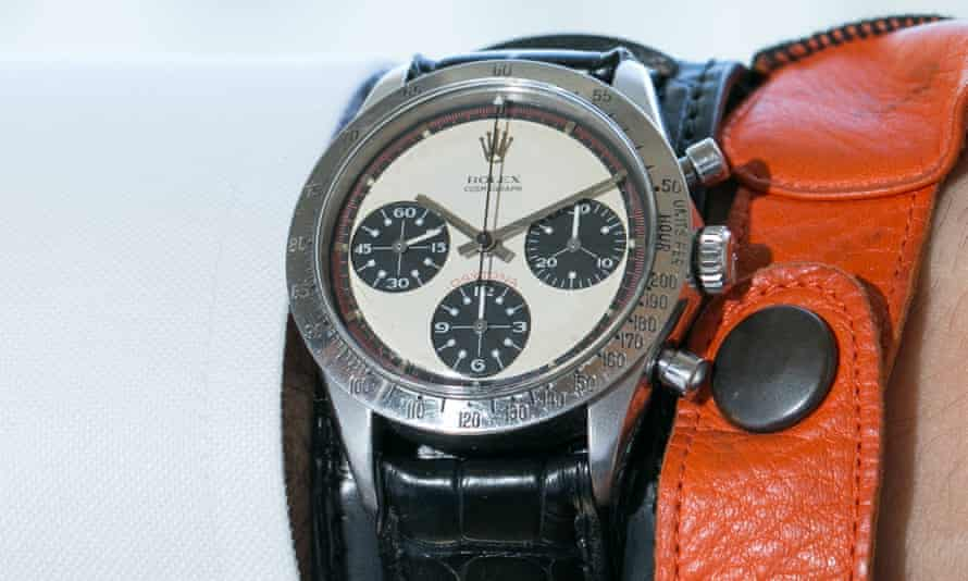 The Rolex Cosmograph Daytona wristwatch sold for almost $17.8m