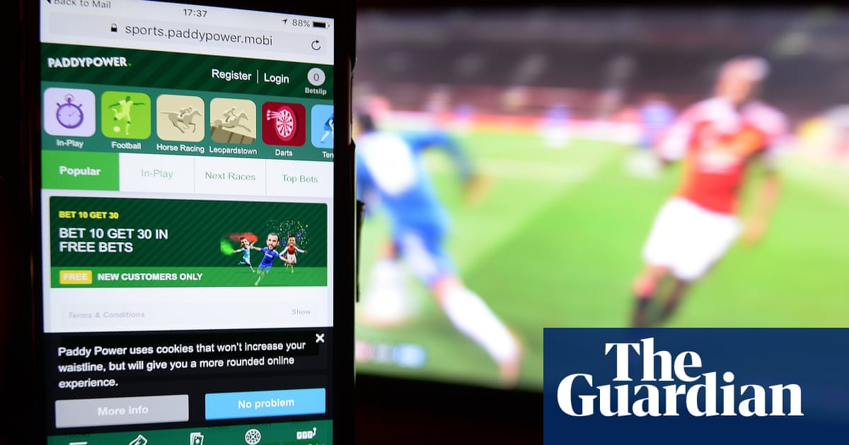 Gambling ads to be banned from child-friendly sites and games | Advertising  | The Guardian