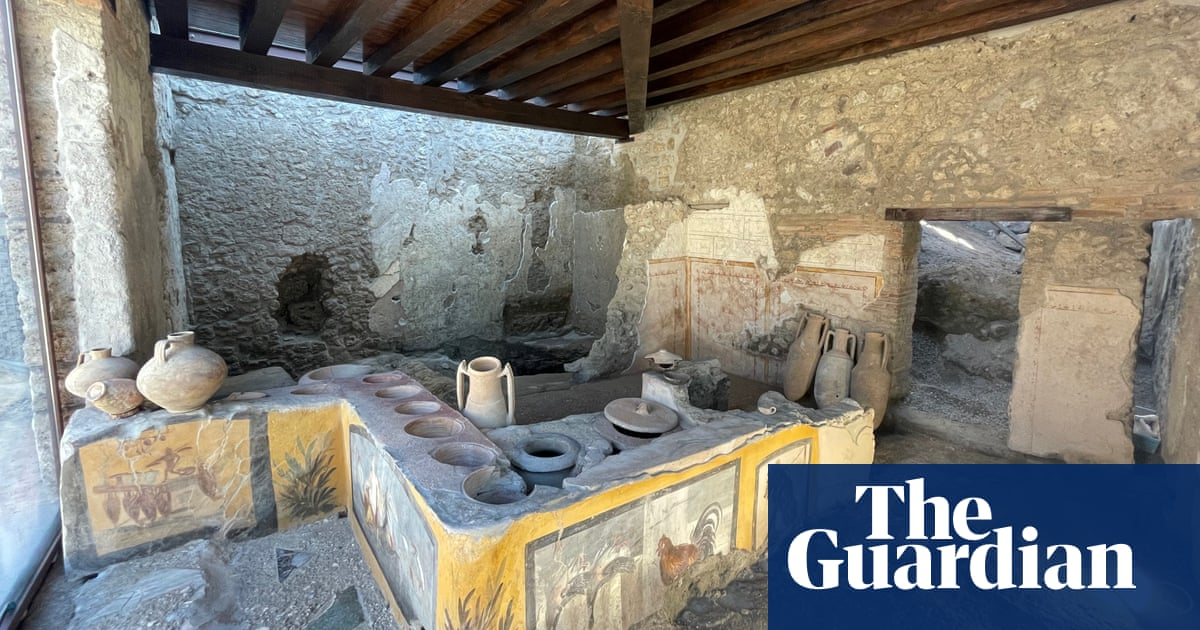 Pompeii's fast food joint unearthed in 2019 opens to public