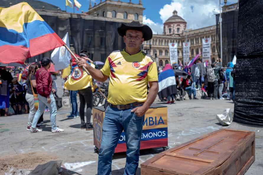 Jimmy Ávila in Plaza Bolivar.