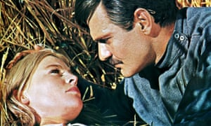 Julie Christie and Omar Sharif in Doctor Zhivago.