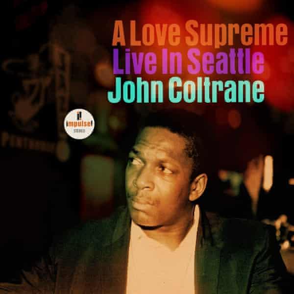 The album cover for A Love Supreme Live In Seattle