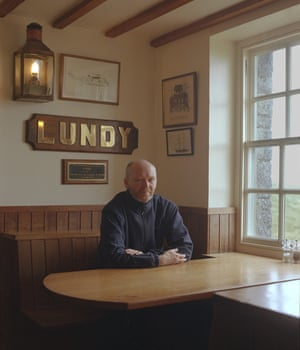 Lundy's social hub is the Marisco Tavern, managed for the past 19 years by Grant Sherman.