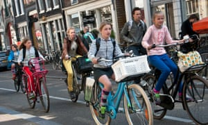 Amsterdam frequently ranks highly for family life in expat surveys