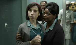 Best picture? ... The Shape of Water featuring Sally Hawkins and Octavia Spencer.