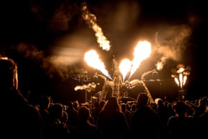 'Anatomically, it was very incorrect' … Arcadia's spider at Glastonbury in 2017.