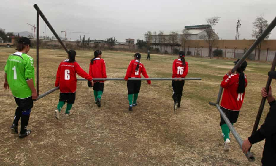 'The Afghanistan women's team stopped training in the country years ago because it was so dangerous'