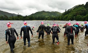 These kinds of swimming events have become popular with some requiring large entry fees.