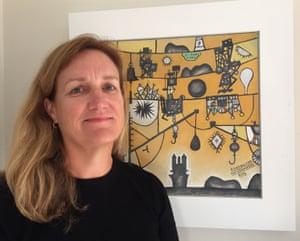Art historian and curator Penelope Jackson